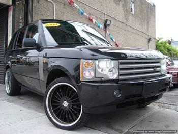 2004 used cars land rover range rover 35k mi w black rims 1 owner accident free buy american. Black Bedroom Furniture Sets. Home Design Ideas