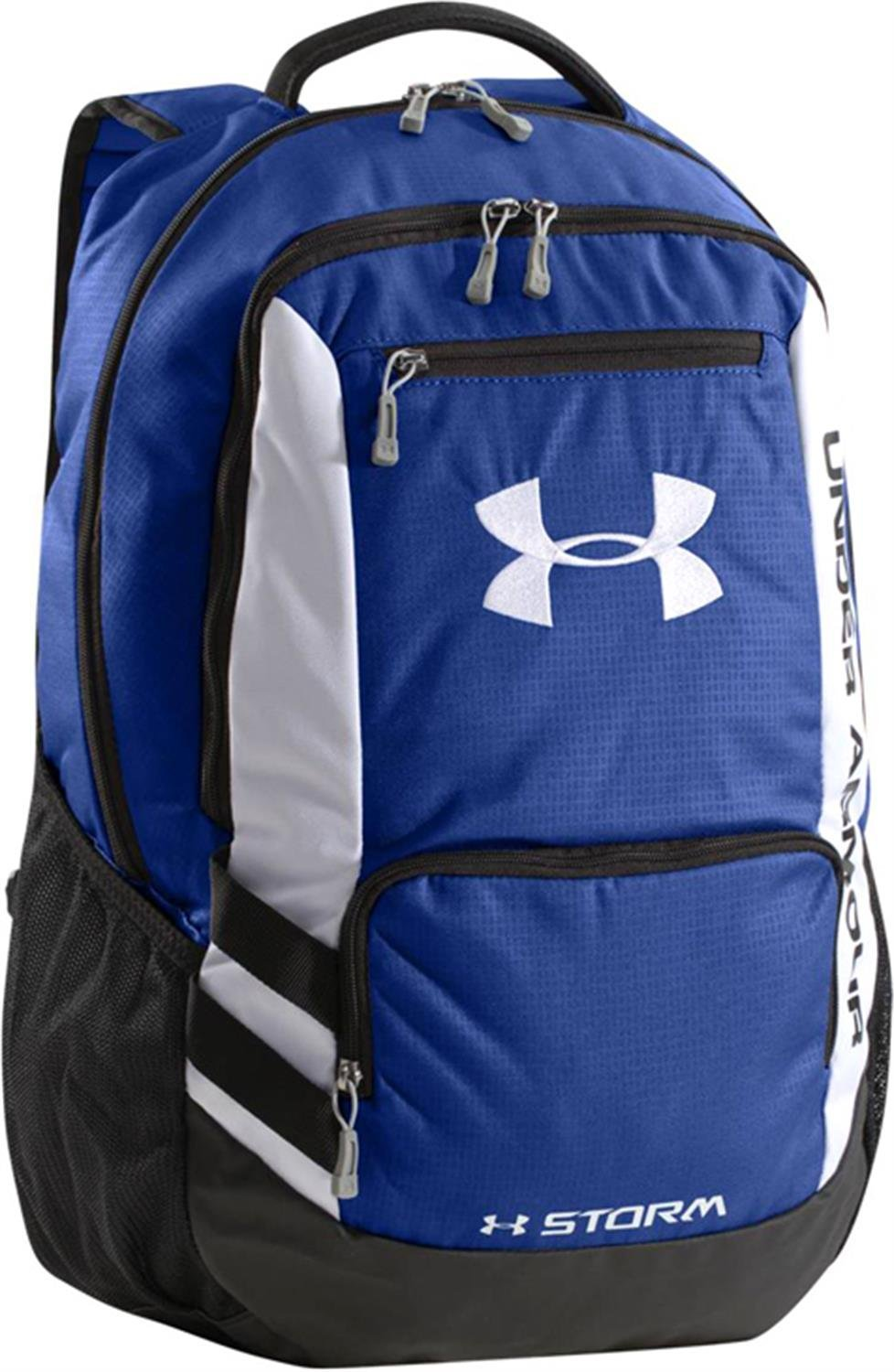 33d4c12d33cc Get Quotations · Under Armour 2015 UA Hustle Storm Backpack (Blue)