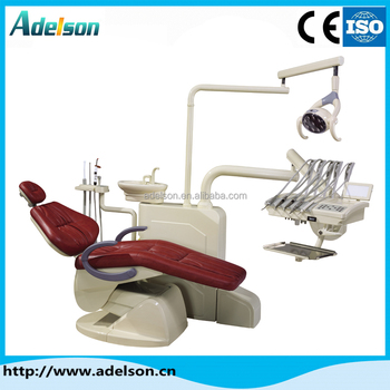 luxury dental chair floor type unit price secondary console led