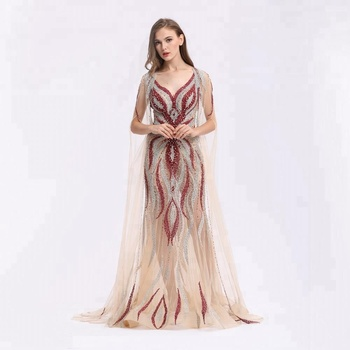 Julima Women\u0027s Sexy Mermaid Elegant Sleeveless See Through Applique  Detachable Wraps Gown Evening Dresses , Buy Evening Dresses,Greek Gowns  Evening