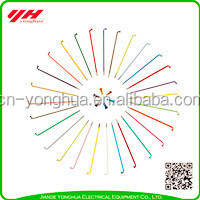 Chinese manufacturer wholesale seven colour bicycle spokes