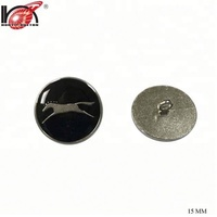 2017 new design metal leather toggle button for clothing