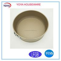 market popular round shape removable spring form baking cake pan