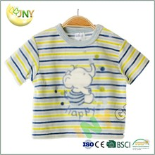 100% organic cotton baby t shirt design for boys