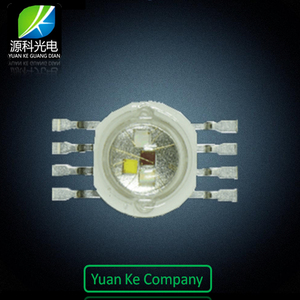 High Quality High Power LED 8 Pin 4W 12W RGBW led diode Epileds Epistar Chip