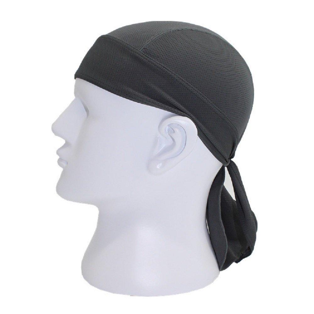 9ce201da9f5 Buy Outdoor Sport Cycling Running Dew Rag headwrap Cooling Skull Cap ...