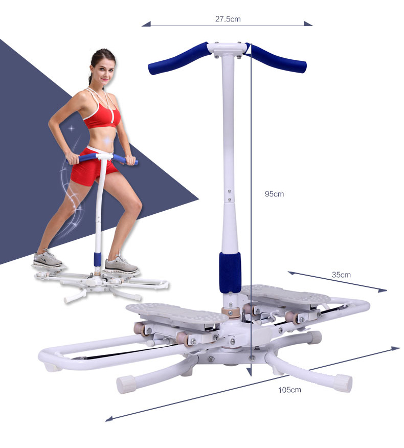 Mini Máquina de Swing Perna Twister Cardio Stepper