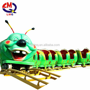 kids game amusement rides worm coaster cheap backyard mini wacky worm roller coaster for sale