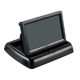 Factory price 4.3 inch flip down car monitor motorized lcd folding monitor for car