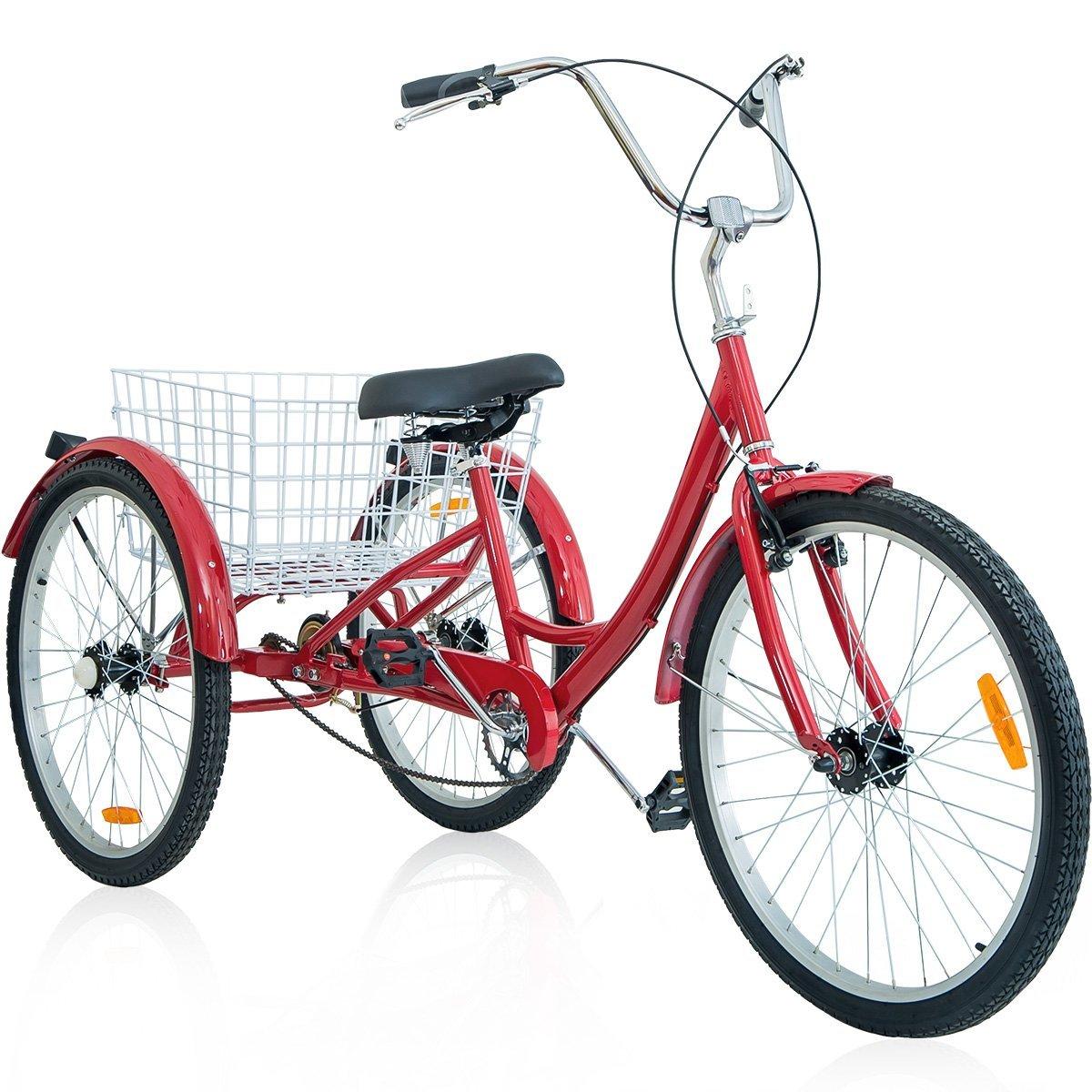 Wheel adult tricycle trike bike cruiser