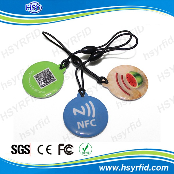 ISO14443A rfid ntag203 nfc smart tag with high quality