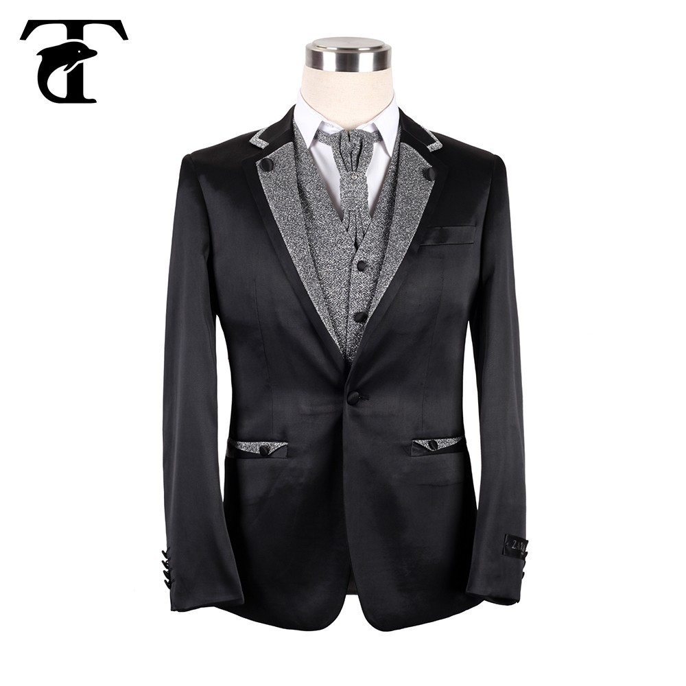 Latest Design Of Groom Black Wedding Suit For Men Suits Mens Coat Pant Designs Product On