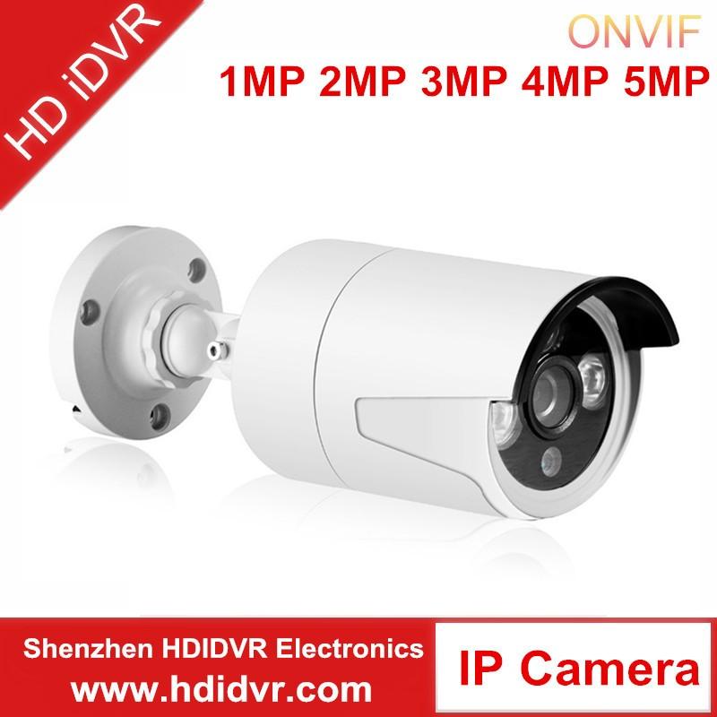 HD iDVR brand 1/3 Starlight IMX291 2MP Full HD Weatherproof IR Outdoor POE IP Camera