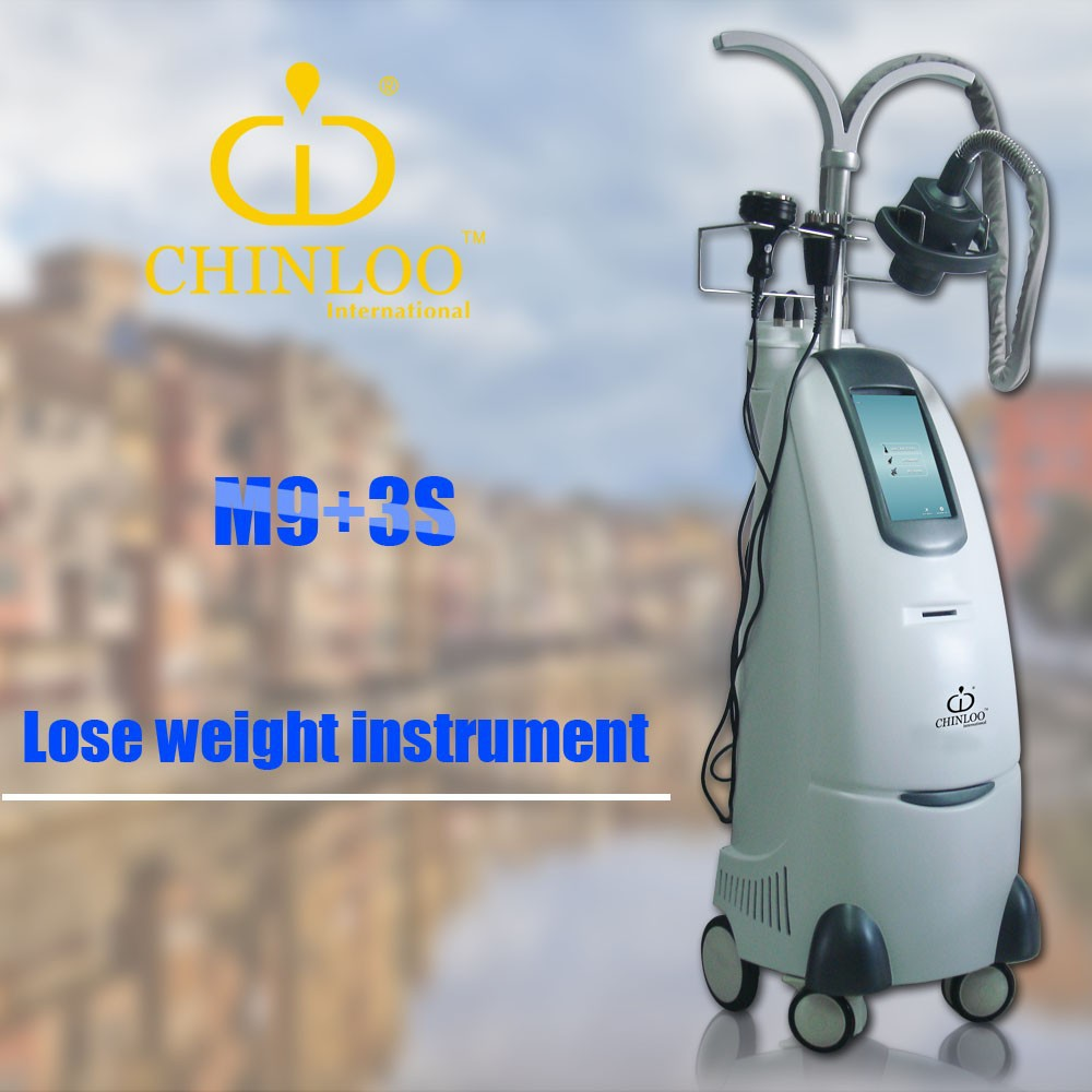 2015 Newest Fat cavitation explode treatment with cavitation theory beauty slimming machine M9+3S/CE/CHIN LOO