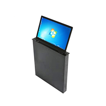 Ultradunne LCD Monitor LED Screen Gemotoriseerde Lift Mechanisme voor Conferentie Audio Systeem