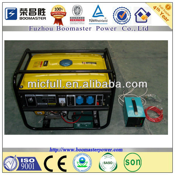 5kw natural gas generator and gasoline generator for egypt market