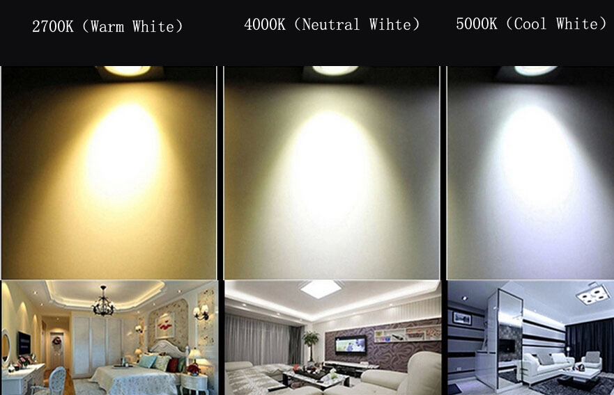 9w 13w Semi Recessed Led Gu10 2700k Cob Light Fixture