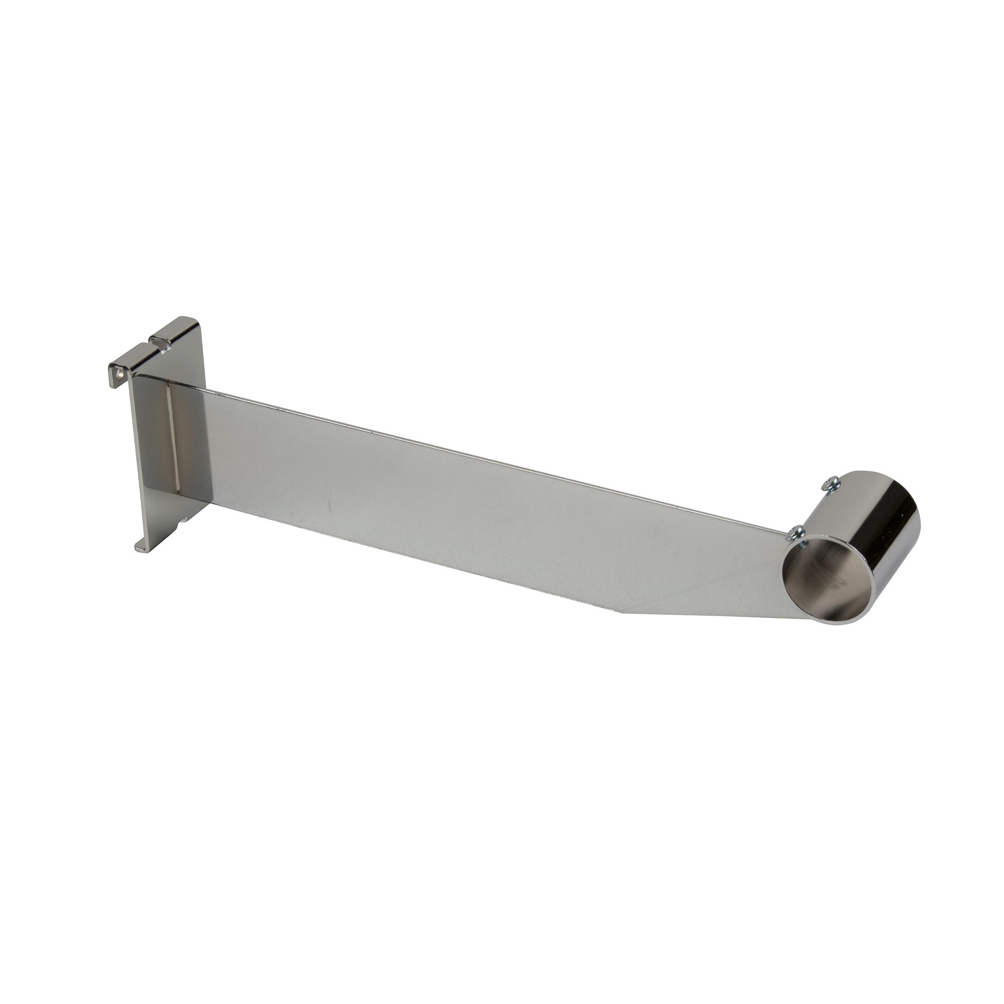 "Econoco Hangrail Bracket for 1-1/4"" Round Tubing, 12"" (Pack of 24)"