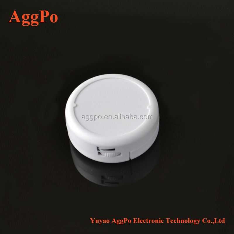 Slim Window Vibration Alarm Loud 110dB Alarm and Vibration Sensors Glass Breakage Vibration Sensor Alarm for window