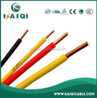 aluminum or copper Al, Cu / PVC coated CE certificated 1mm copper wire or bigger size electrical building wire