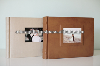 Adapac 0067 Faux Leather 8x10 Photo Albums Photo Album Book