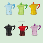 three cups Electric Aluminum Espresso Coffee Maker Moka pot