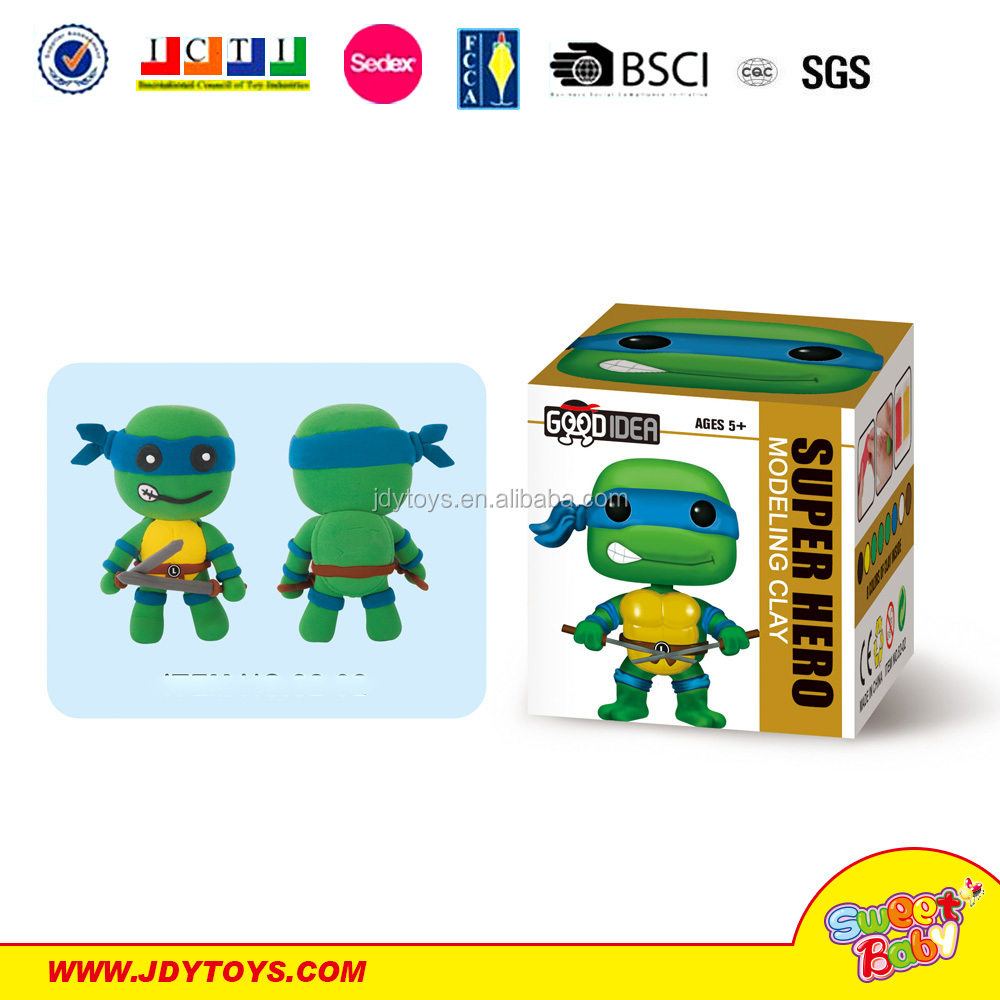 New Product Soft Toy For Kids Color Mud Set Clay Craft Toy Making