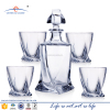 High Quality Whiskey Decanter Set/Bohemia Crystal /whisky sets