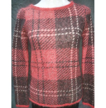 wool Woman Sweater Pullover Round Neck design for girl/ladies Cambodia Computer Knitted