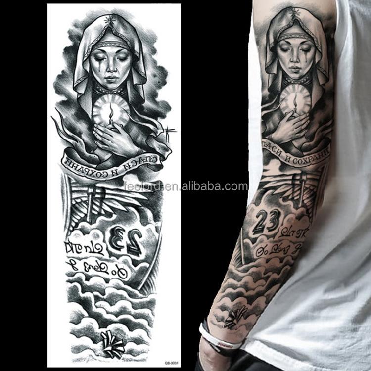 Skull Sleeve Tattoo Designs Drawings On Paper