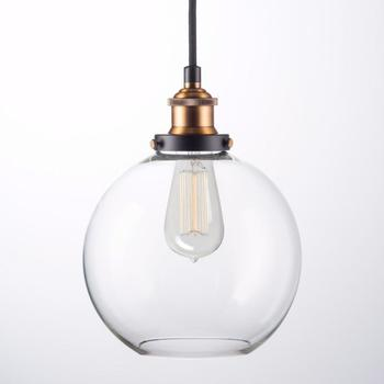Modern Glass Ball Chandelier Pendant Light
