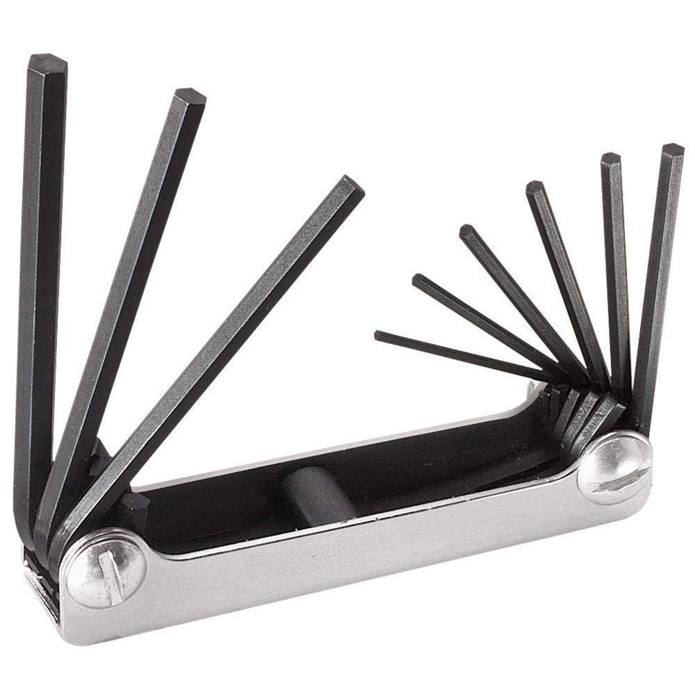 Klein 70591 Nine-Key Inch Folding Hex-Key Set