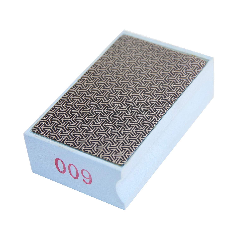Diaki Diamond Polishing Hand Pads Grits 600# for Stone Glass Concrete Granite Marble