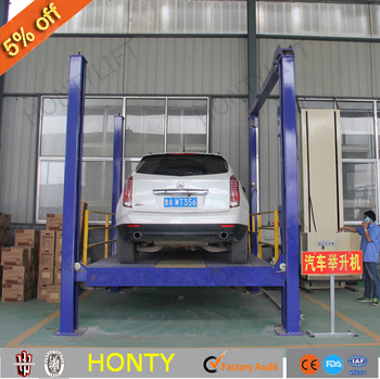 Used Hydraulic Jack Car Lifts Four Wheel Motorcycle Lift Table For