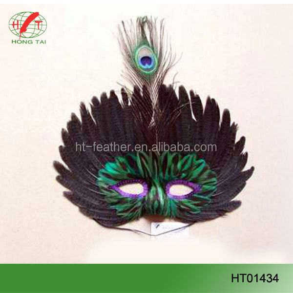 feather mask party mask factory supply feather mask party mask