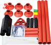 8.7/10KV indoor / out door three cores Heat Shrink Termination Kits for medium voltage