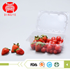 Wholesale disposable shop fruit food pet plastic container with lid