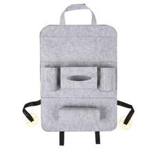 Универсальная автомобильная сумка для хранения KKMOON, органайзер на заднее сиденье, контейнер с карманами(Китай)