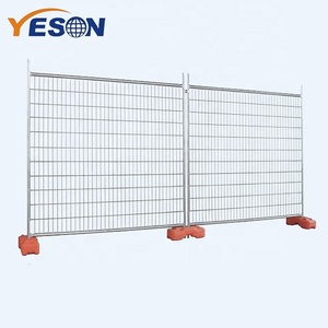 6x10 Portable removable fence temporary steel Construction Temporary Fencing panel hot sale