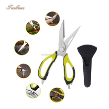 Heavy Duty Laser Kitchen Scissors,Multi-Purpose Kitchen Scissors