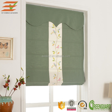 Best window solution roman shade details mix fabric with tapes