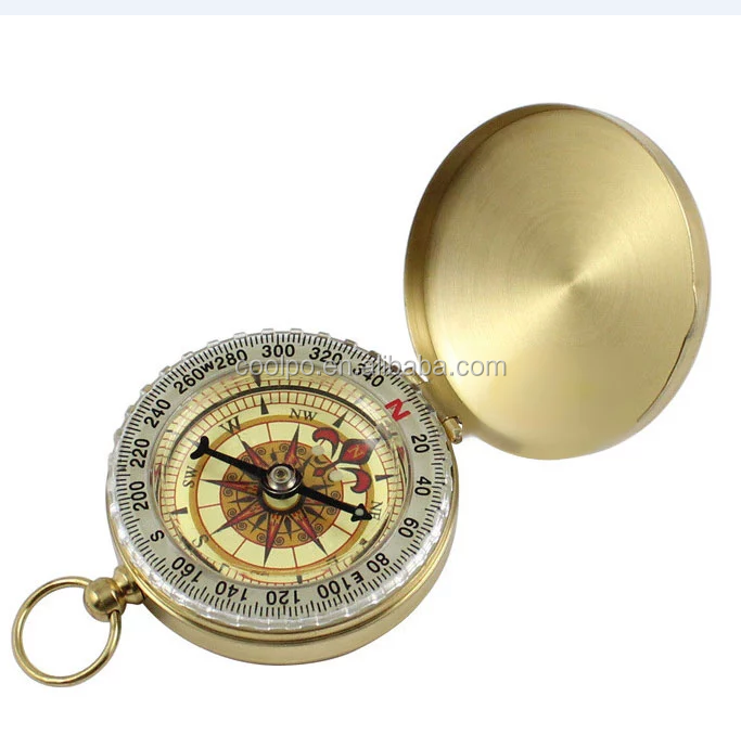 Maritime Maritime Compasses Antique Pocket Watch Compass Marine Nautical Desk Clock Brass Made Table Decor To Enjoy High Reputation In The International Market