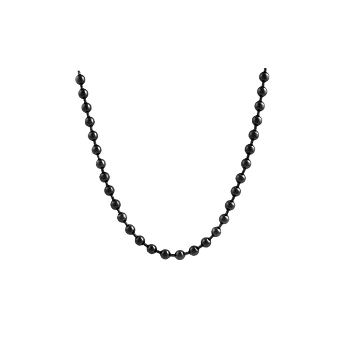 491fdf0a29e84 Gold All Size Black Beads Gold Chain Necklace Designs Wholesale For Men -  Buy Black Chain,Black Bead Chain Men,Black Beads Gold Chain Designs Product  ...