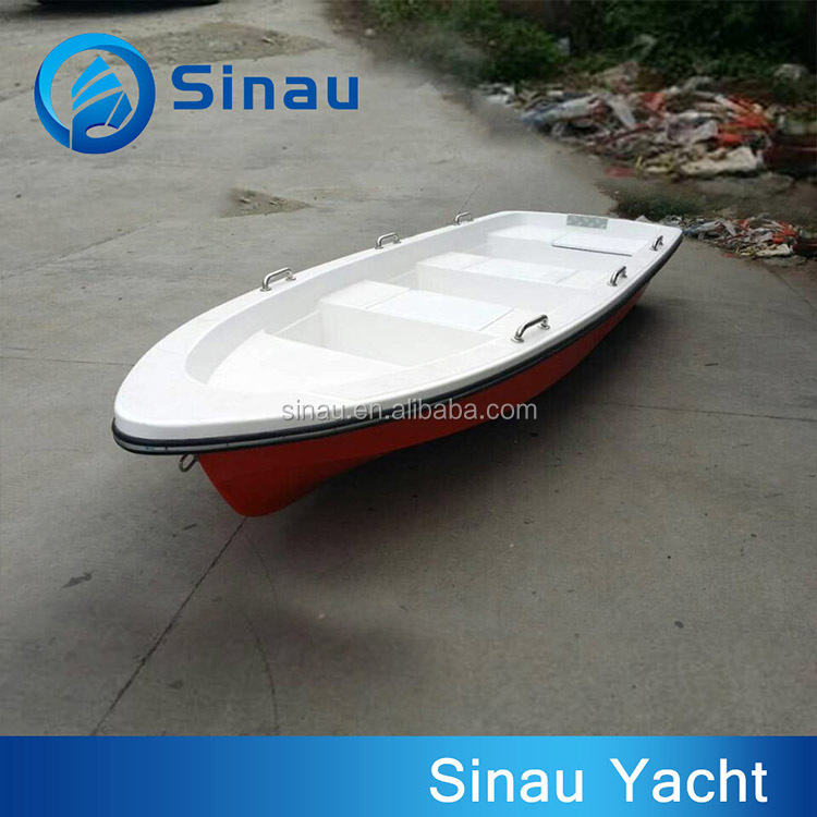 supply 4.5m/14.8ft CE approved fiberglass fishing boat/boat for fish use