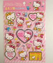 eva schuim <span class=keywords><strong>kerst</strong></span> hello kitty puffy stickers voor promotie