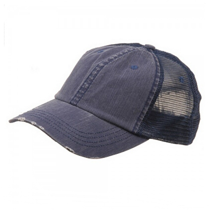 Distressed Trucker Mesh Caps Wholesale Plain Trucker Hat