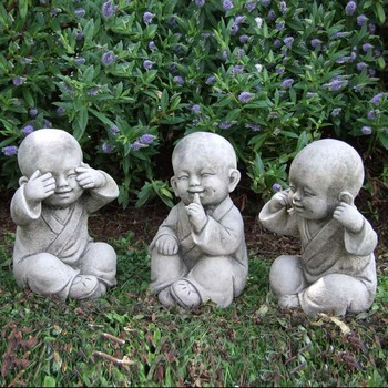 Cheap And Best Carved Baby Buddha Sleeping Stone Statue For Outdoor Garden  Ornament
