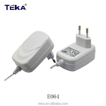 18W reliable reputation ac dc power adapter with CCC CE GS UL CUL FCC KC certification High quality and low price