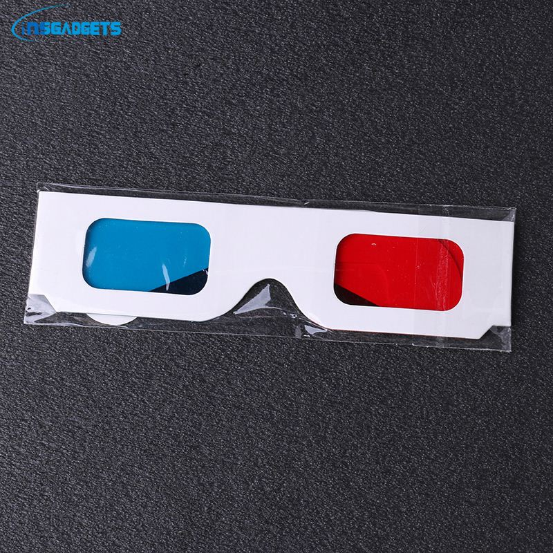 New 2018 products eco-friendly red len paper 3d glasses 0eMh0t red cyan 3d glasses