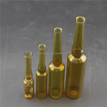 1ml 2ml 5ml 10ml empty glass ampoule bottle for injection packaging